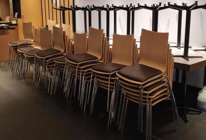 Used Restaurant Tables Furniture Tables Chairs On Carousell