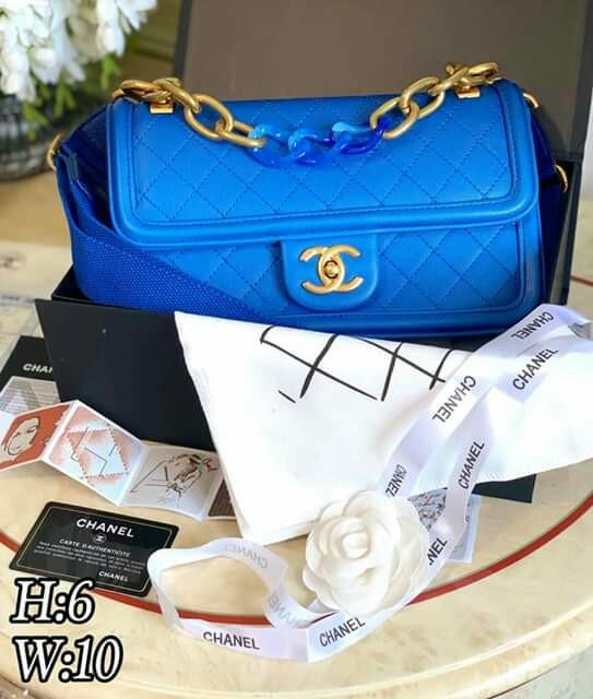 473e4a3af746d2 w/Serial Box CLEARANCE SALE Blue Chanel Ombre Chanel Quilted Flap Bag  Chanel Flap Bag Chanel Black Bag Chanel Chain Bag Chanel Sling Bag Chanel  Shoulder Bag ...