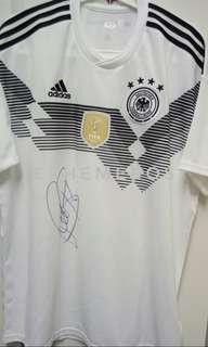 舒韋恩史迪加,小豬,前拜仁及曼聯名將,親筆簽名德國隊2014年世界杯冠軍球衣