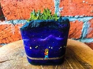 Handmade Pots_Galaxy Series