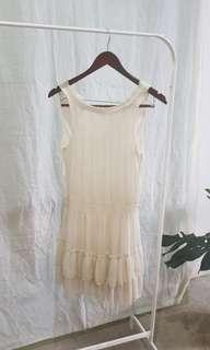 DRESS ZARA WHITE