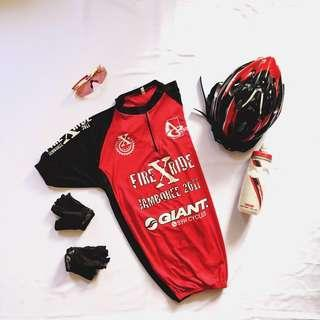 Cycling Jersey, FireXRide ,CycleXMtb Alor Gajah , Size L