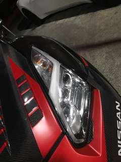 🚚 R35 GTR Lightning Bolt Headlamps FaceLift ORIGINAL