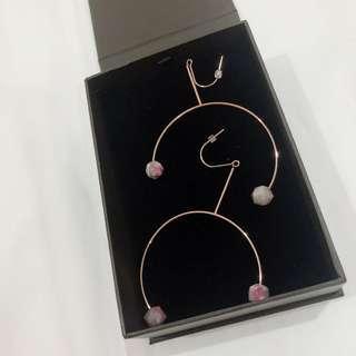 sale🤗 brand new charles and keith loop earrings