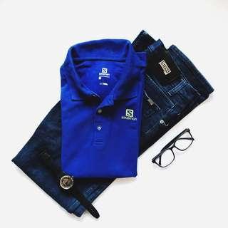 Salomon Men's Tshirt Collar #sparkjoychallenge