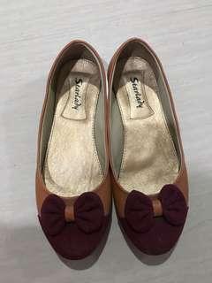 Flat shoes krem
