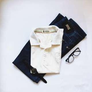 Ferrari Vintage Men's Tshirt Collar #sparkjoychallenge