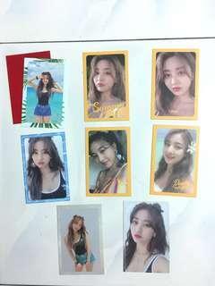 Jihyo Twice Summer Night 8 Pc Set