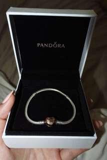Pandora Bracelet, Heart Clasp
