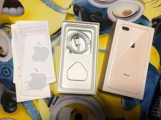 Apple IPhone 8plus 盒連配件 沒有耳筒