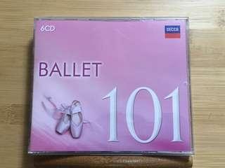 101 Ballet Classical Music 古典音樂CD