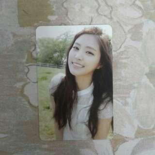 Apink Na Eun Secret garden official photocard