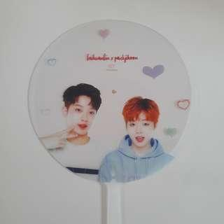🚚 wanna one panwink transparent fan