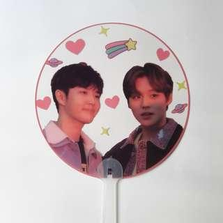 🚚 wanna one kingwink transparent fan