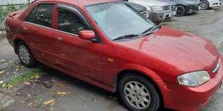 售2000年 福特 tierra 1.6 紅色米內裝 1600cc