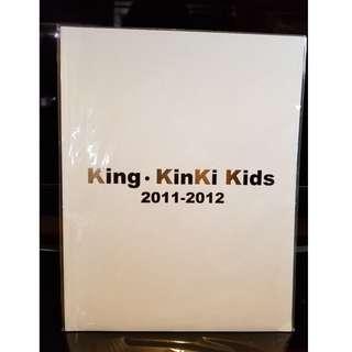 (執屋出清) King・KinKi Kids 2011 - 2012 場刊 堂本光一 堂本剛