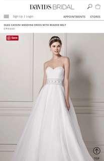 Almost new Wedding Dress 婚紗裙