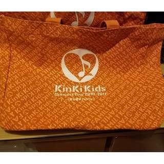 (執屋出清) KinKi Kids FAMILY 2010-2011 Shopping Bag 堂本光一 堂本剛 (二手-有使用感)