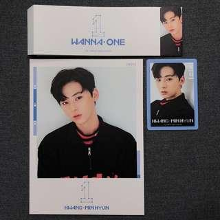 🚚 [OFFICIAL] Minhyun To Be One (Sky Ver.) Full Set