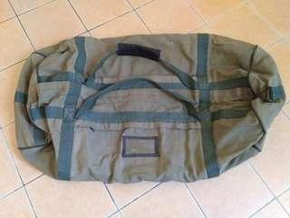 Vintage Army malaysia issue bag 1994