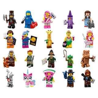 LEGO Movie 2 Lego 71023 Sealed Minifigures Set of 20