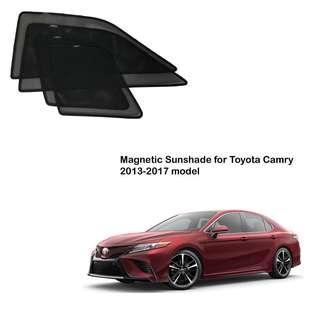 Toyota Camry 2013-2017 Magnetic Sunshade (4pcs)