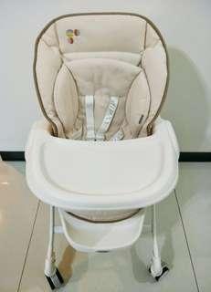 Combi Letto 手動安撫餐椅搖床 DX款 全新展示機- 送新生兒墊 買到賺到