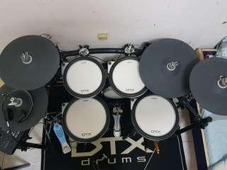 yamaha dtx760k 電子鼓 非Roland