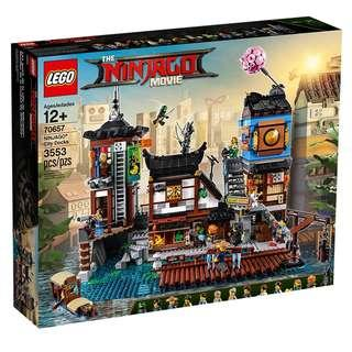[ 送貨的 ] Lego 70657 Ninjago City Docks