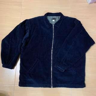 🚚 Patagonia 二手美品 深藍燈芯絨 鋪棉夾克 工作外套