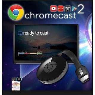 Chrome Cast 2