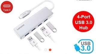 Lenovo USB -C to 4 port USB 3.0 HUB C 610