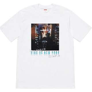 🚚 Supreme SS19 'King of New York' Tee White (M)