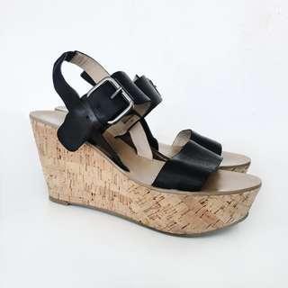Marc Fisher M for Alie Platform Sandals - size 7