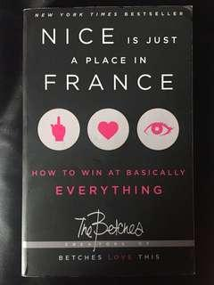 Betches Nice is just a place in France