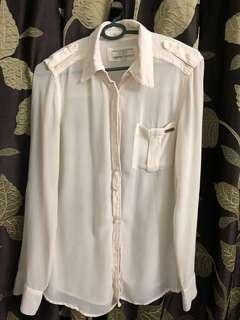 Guess White Shirt