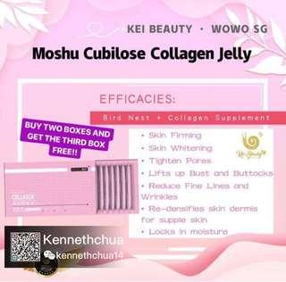 🚚 WOUWOU Moshu Cubilose Collagen Jelly