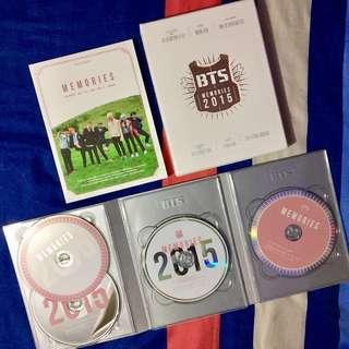 [RARE] BTS MEMORIES OF 2015