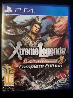 PS4 Used Game Dynasty Warriors 8 Xtreme Legends