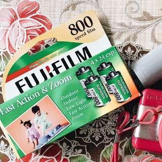 Fuji Superia X-Tra 800 35mm