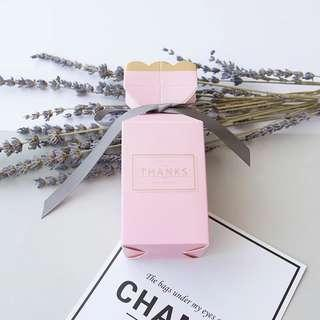 🚚 Modern Printed Design Standing Gift Box - Pink Thank You