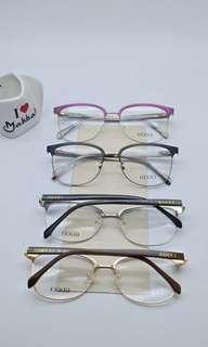Kacamata frame gucci size 56