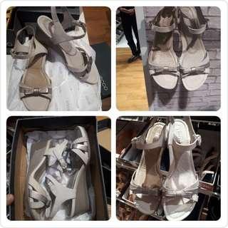 New Sepatu High Heels Wedges 💯% Original Ecco
