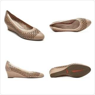 New Rockport Sepatu Wedges High Heels 💯 %ORIGINAL