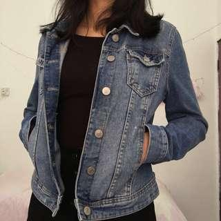 Calliope Dark Blue Denim Jacket