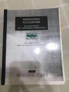 Managerial accounting textbook