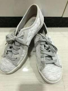 Authentic KEDS kickstart quilted LT grey