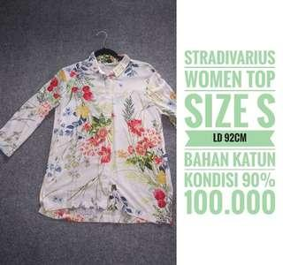 STRADIVARIUS blouse, size S, LD 90cm