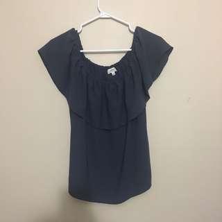 Aritzia Wilfred Palmier blouse