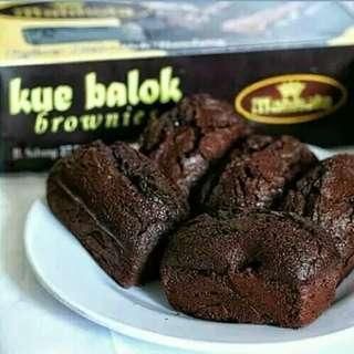 Kue Balok Brownies Coklat Khmer hitzz banget